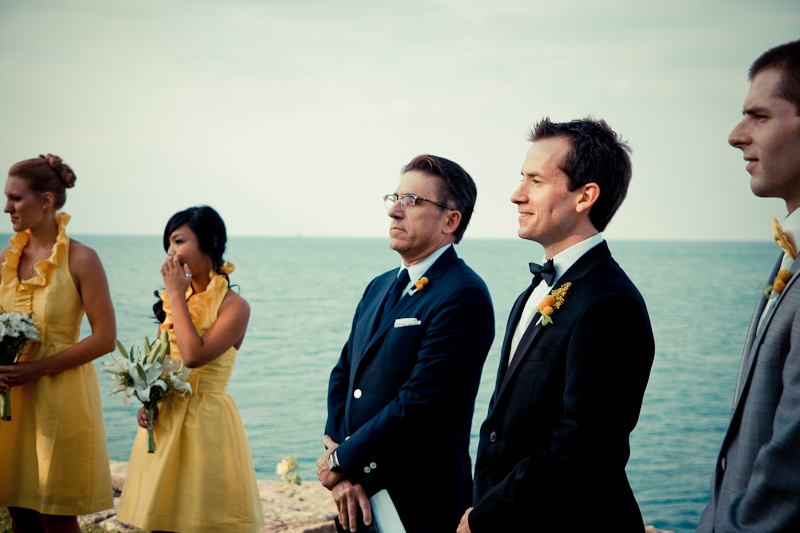 Promontory Point Wedding