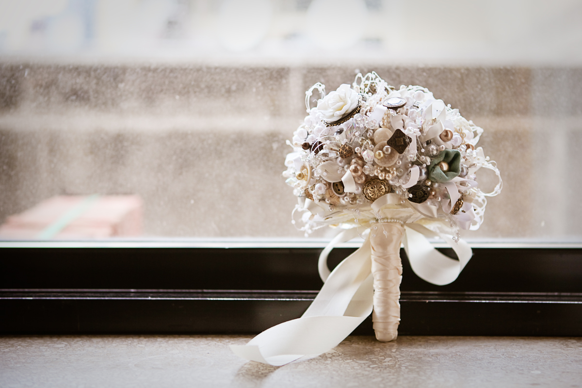 Chicago Wedding Photography DIY Bouquet