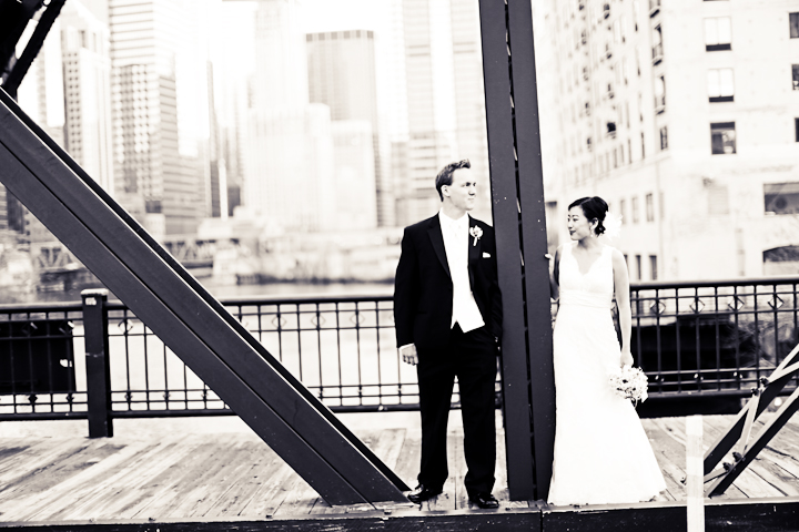 Chicago Wedding Photography Kinsey Street Bridge Studio Finch