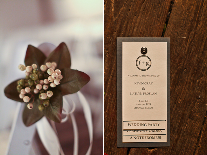 Chicago Wedding Photography Table Setting Menu Flowers