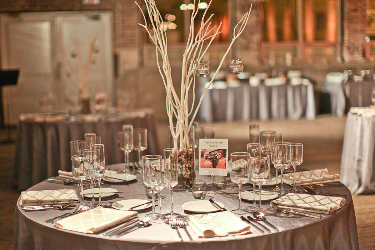 Chicago Wedding Photography Gallery 1028 Table Setting