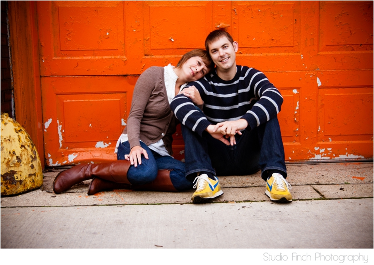 013 Chicago Engagement Photography with Sarah & JD   Ukrainian Village Style!