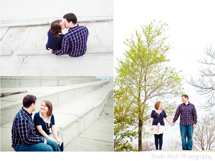 Beautiful Chicago Nature Engagement Photo by Studio Finch