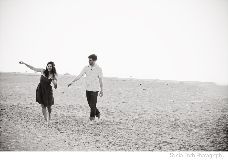Indiana Dunes National Park Engagement Photo by Studio Finch