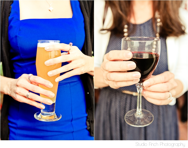 beer and wine wedding