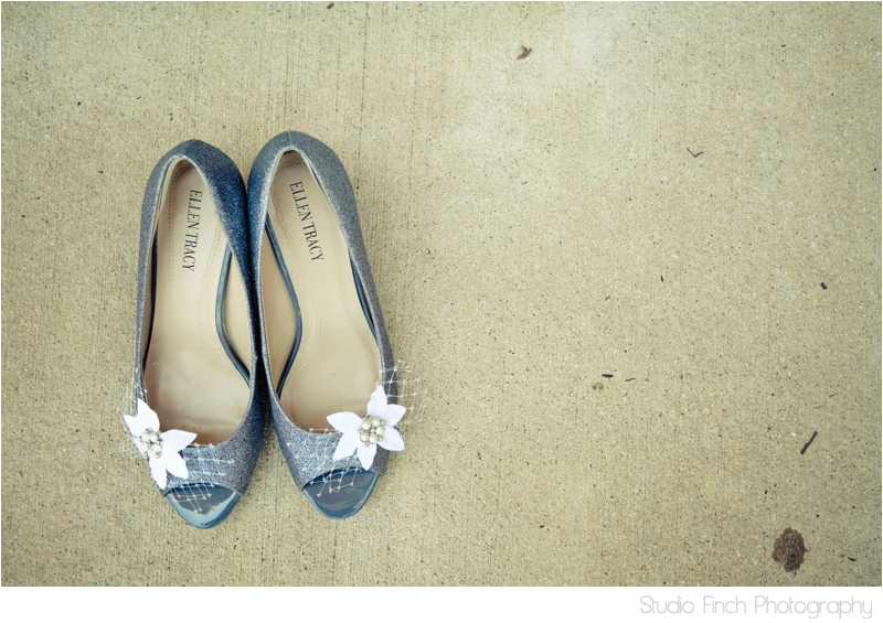 Wedding Shoes Something Blue