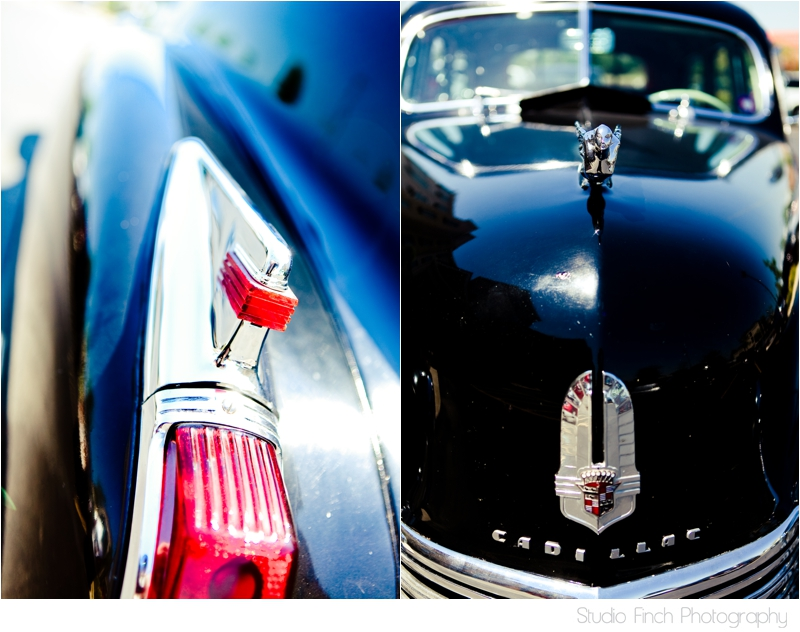 Vintage Cadillac Wedding Car