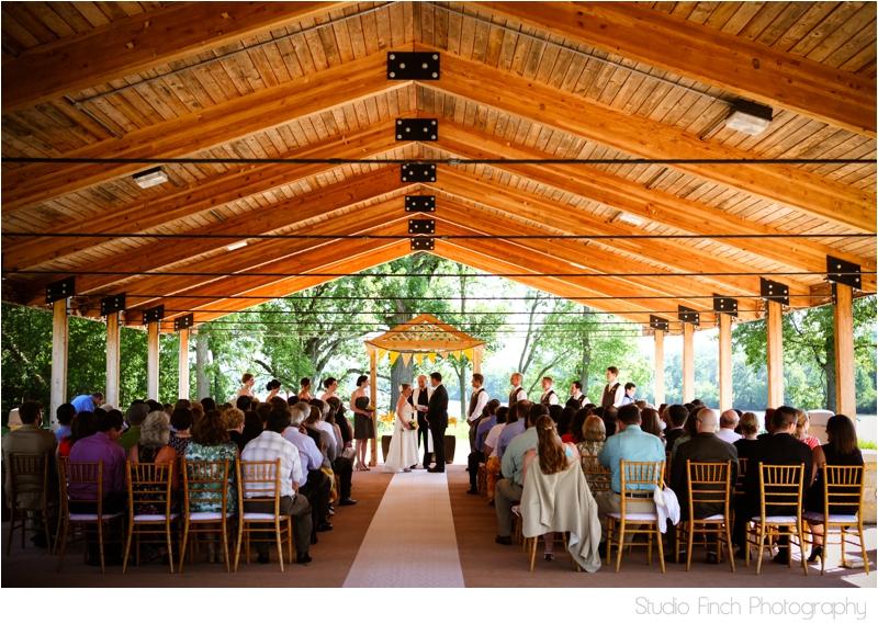 Wedding Four Rivers Environmental Center Chicago Wedding
