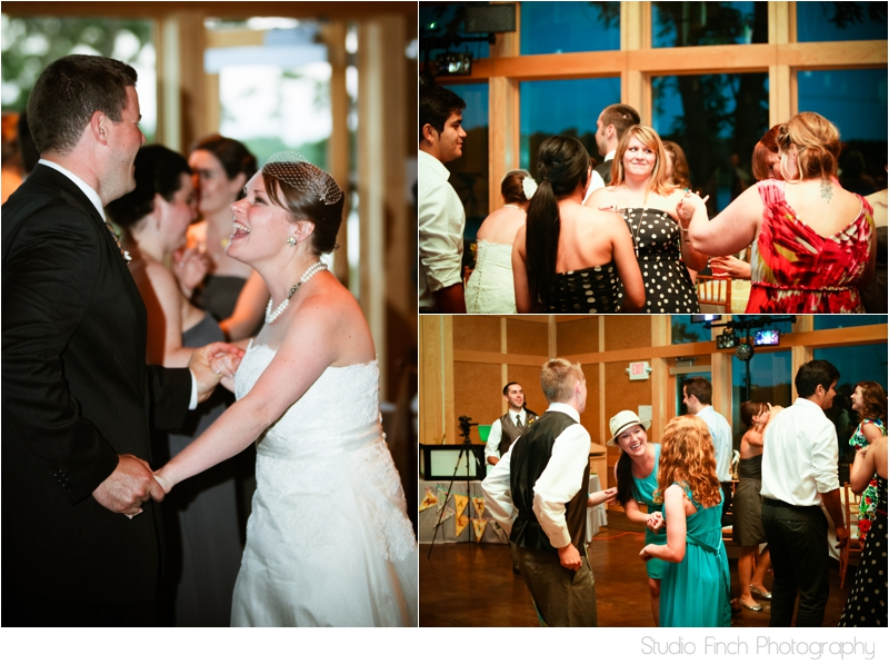 Dancing Wedding Four Rivers Environmental Center Chicago Wedding Photographer