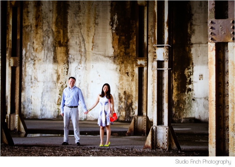 Chicago Urban Engagement Photography Studio Finch