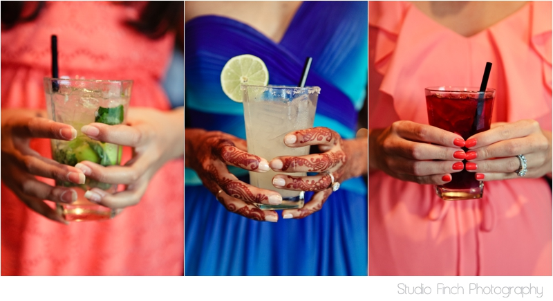 Colorful Drinks Carnivale Chicago Wedding Studio Finch