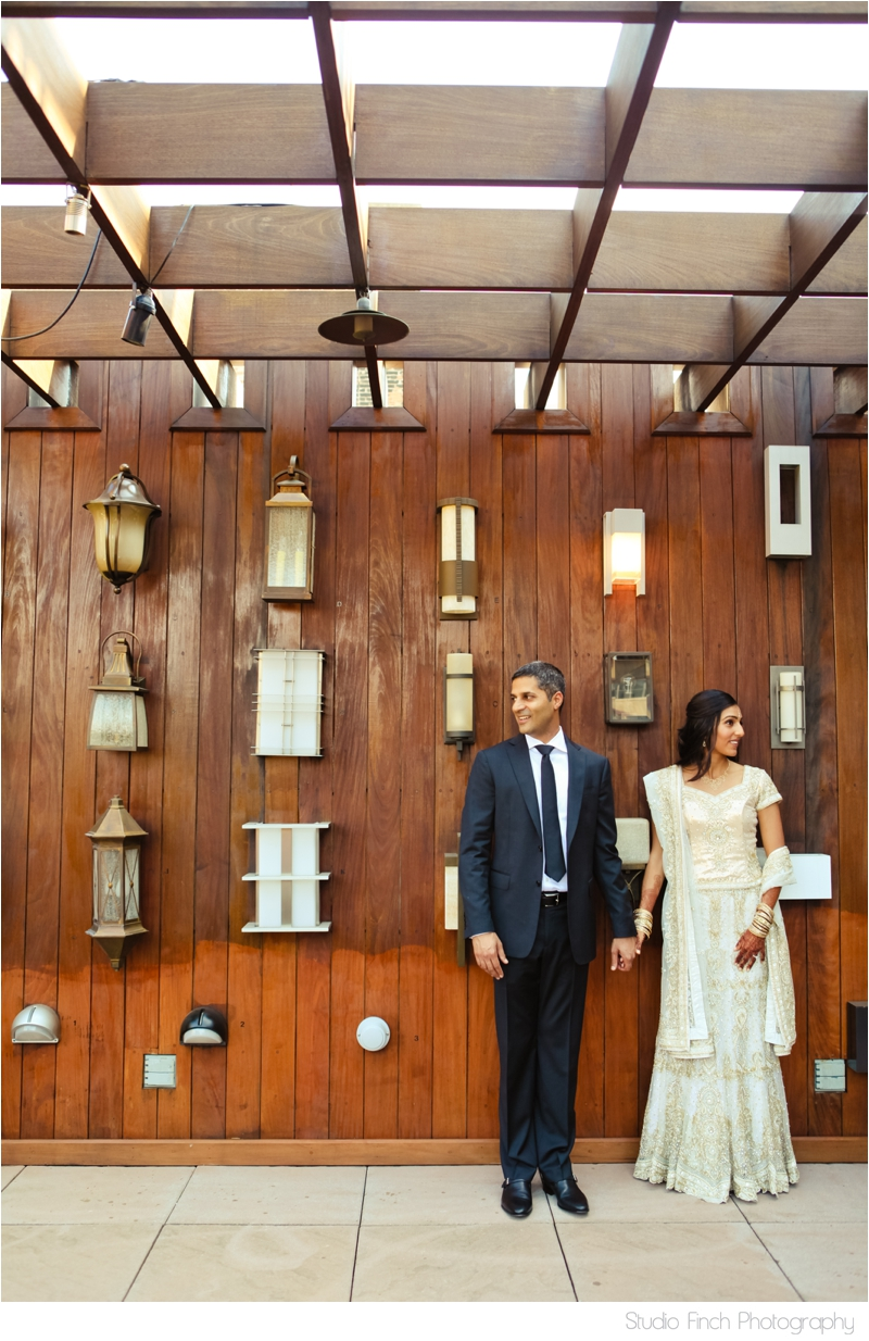 Bride and Groom Lightology Chicago Studio Finch