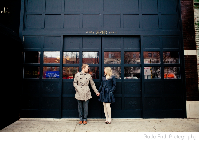 Chicago Engagement Photo by Studio Finch