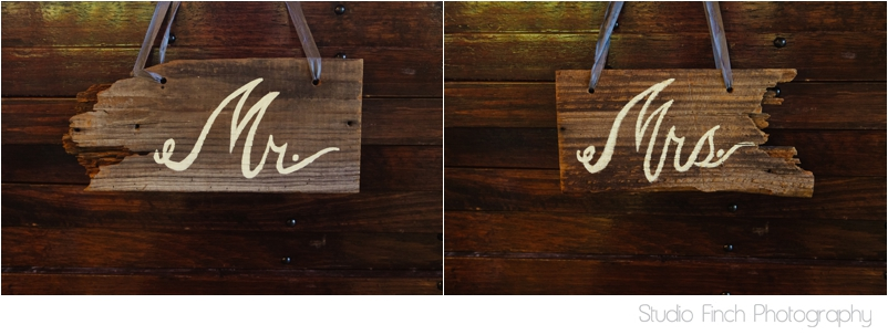 Beach wood vintage Mr and Mrs Sign