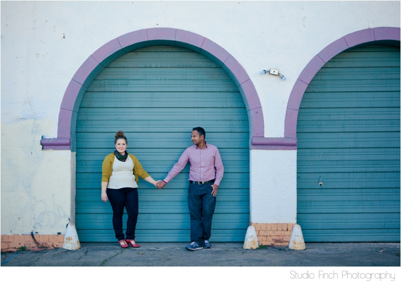 Purple Arch Ventura Beach Engagement Photography
