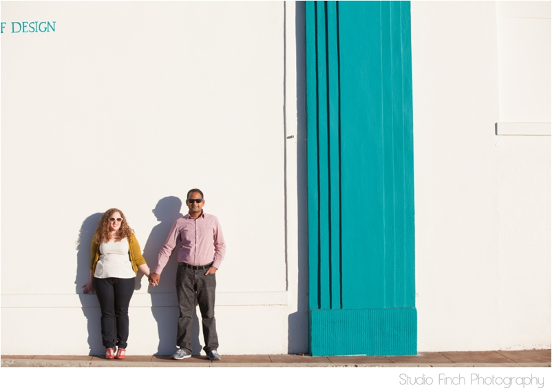White Wall Engagement Photography Ventura Beach