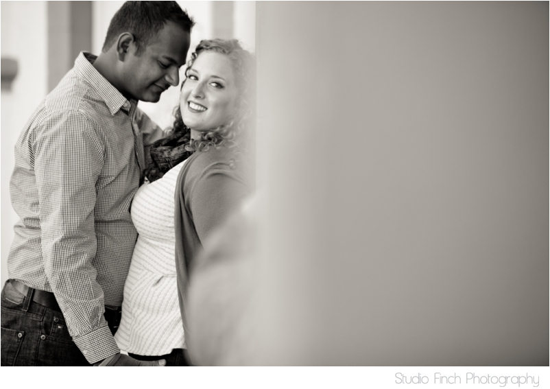 Black and White Engagement Photography Ventura Beach