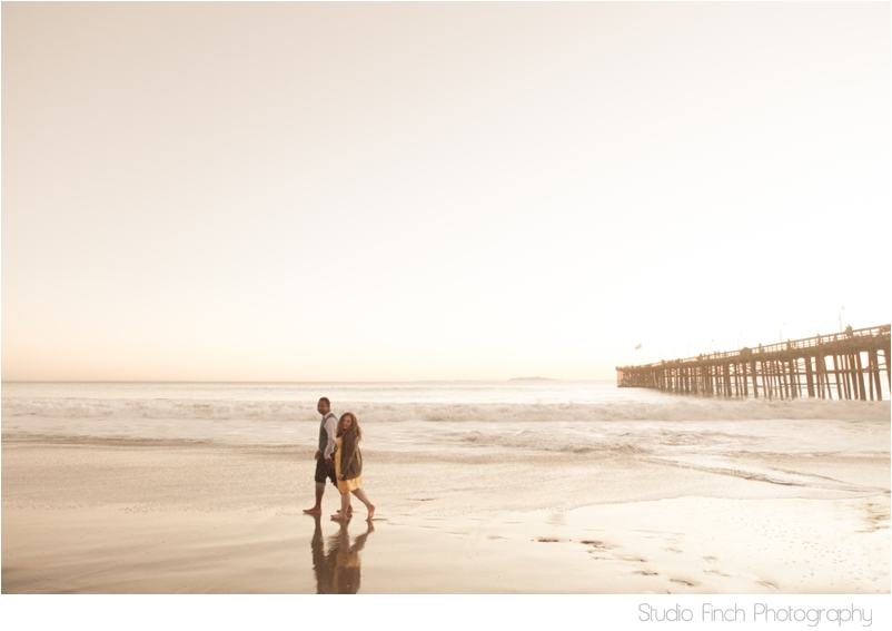 Sunset Engagement Photography Ventura Beach