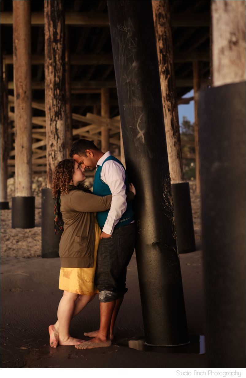 Venture Pier Engagement Photography Ventura Beach