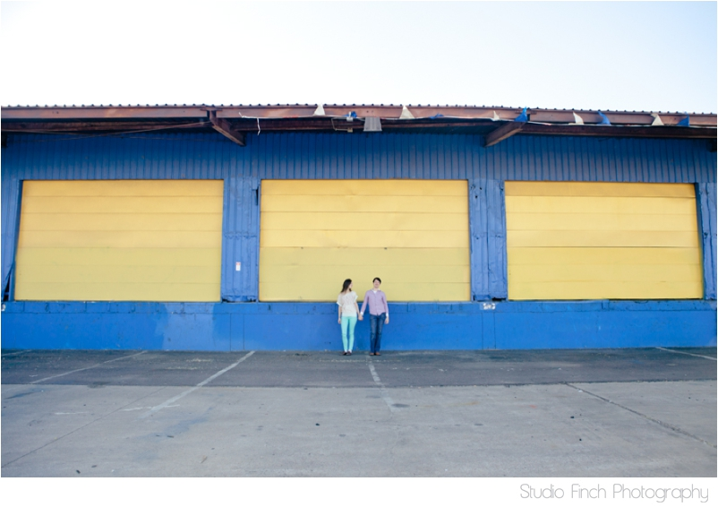 Three Yellow Doors Arizona Engagement Photography