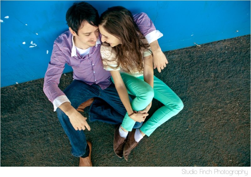 Blue Wall Arizona Engagement Photography