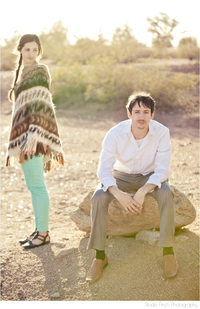 Desert Love Arizona Engagement Photography