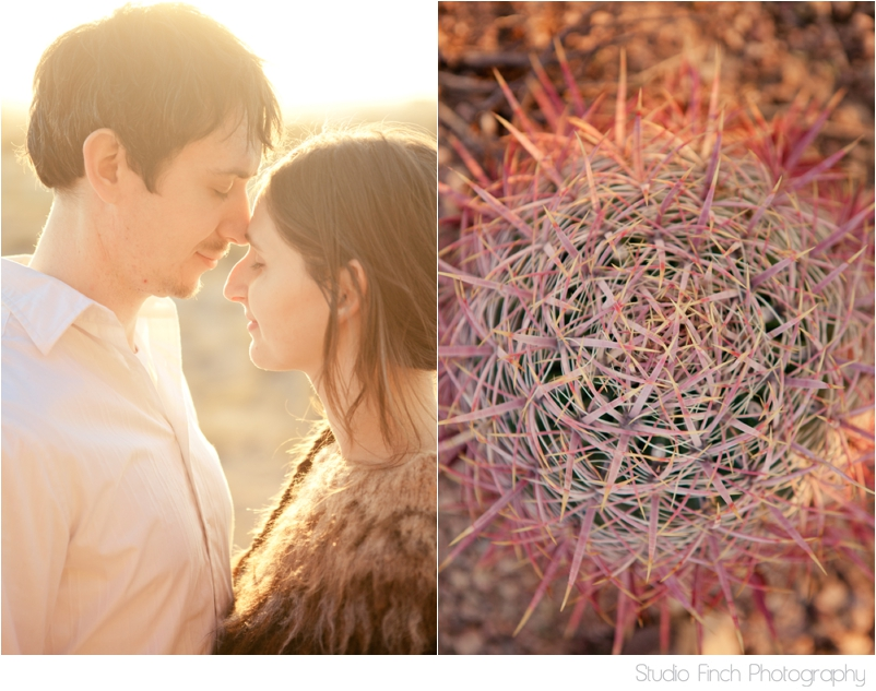 Sunset Arizona Engagement Photography