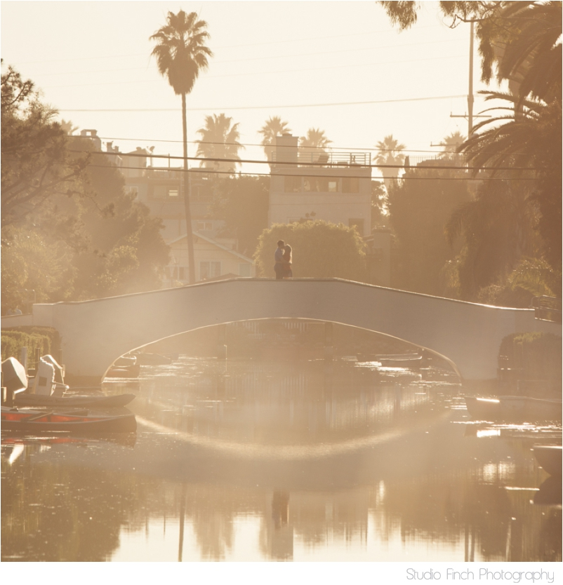 Venice Canals Engagement Photography