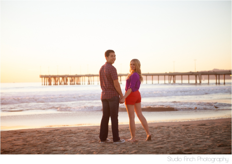 Venice Beach Engagement Photography