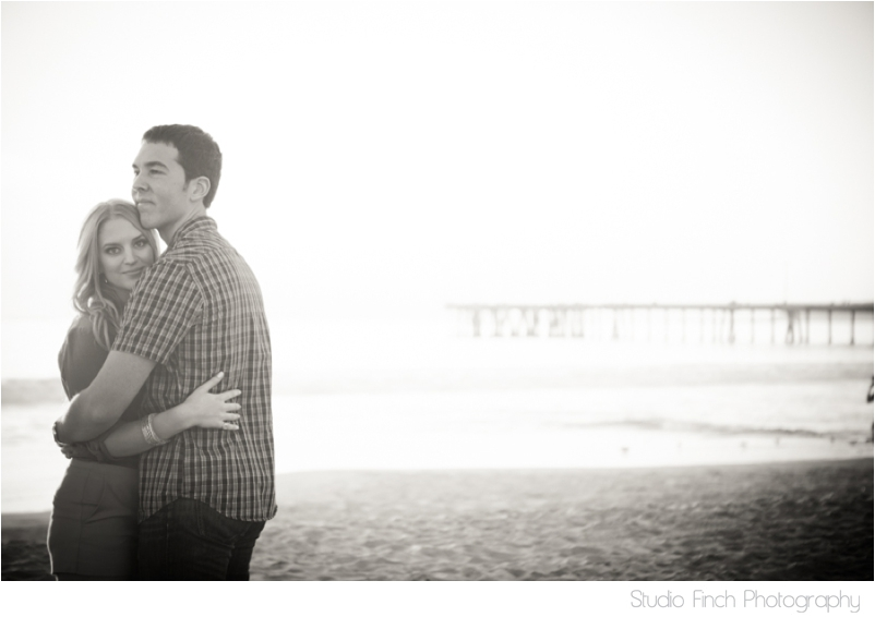 California Sunset Engagement Photography