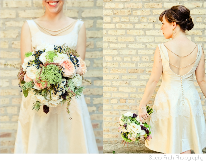 Asrai Garden Bridal Bouquet