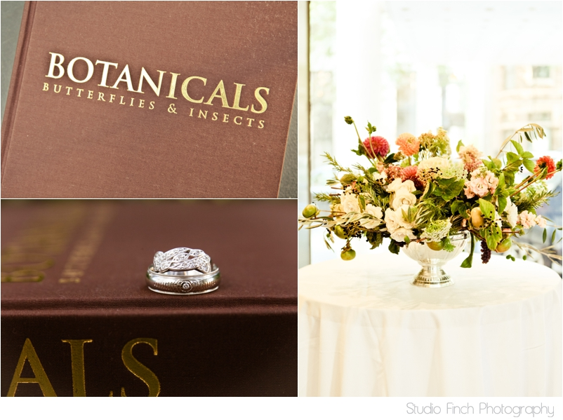 Botanicals Wedding Details