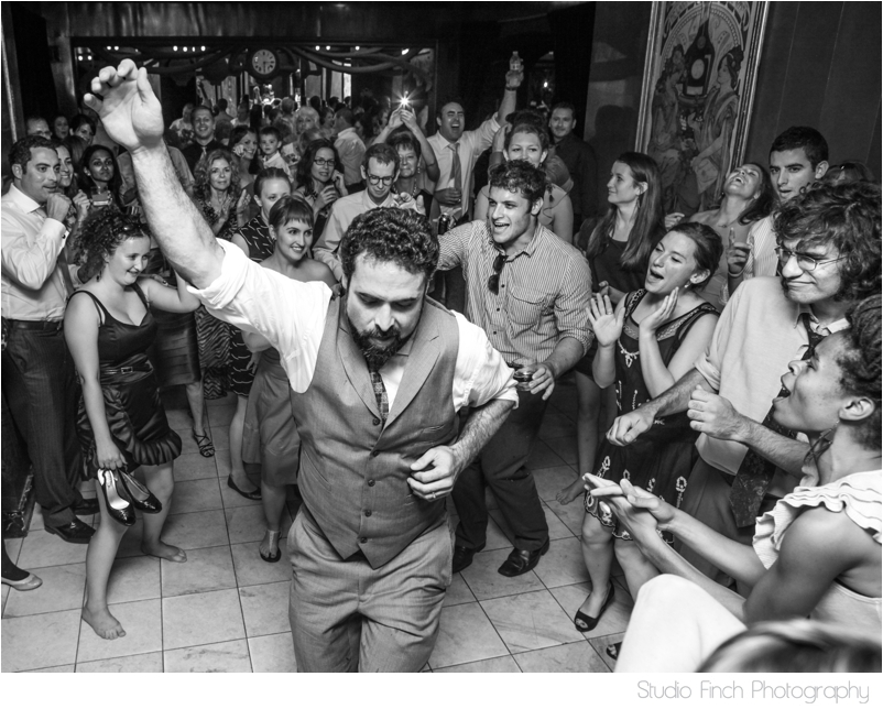 Maxim's Restaurant Wedding Groom Awesome Dancing
