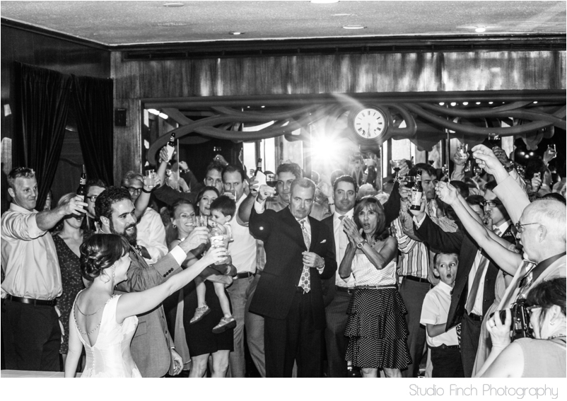 Maxim's Restaurant Wedding Final Toast
