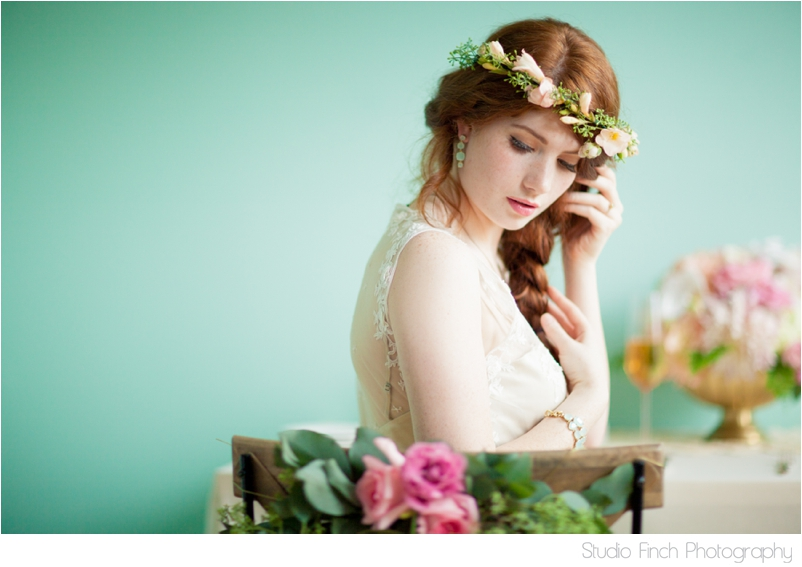 chicago wedding photographer mint inspiration ipomea floral doily 0001 Featured: Ruffled Blog