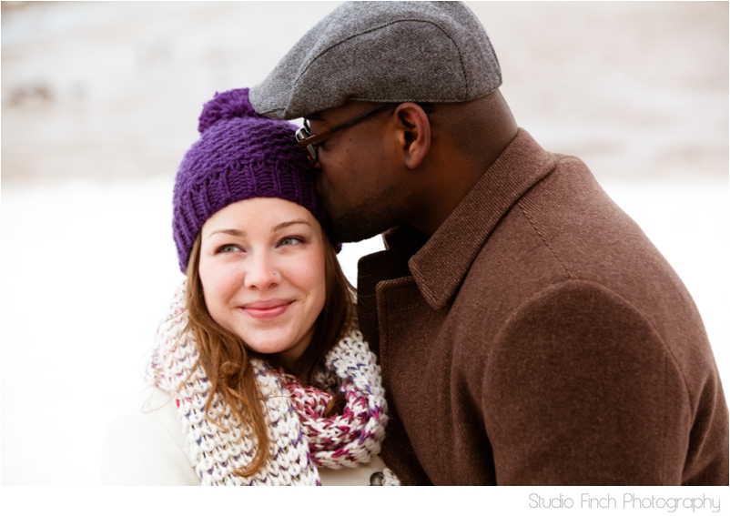 winter chicago engagement session seasons chicago wedding photographer 0005 A Chicago Winter Engagement Photography Session  Voni and Clivens