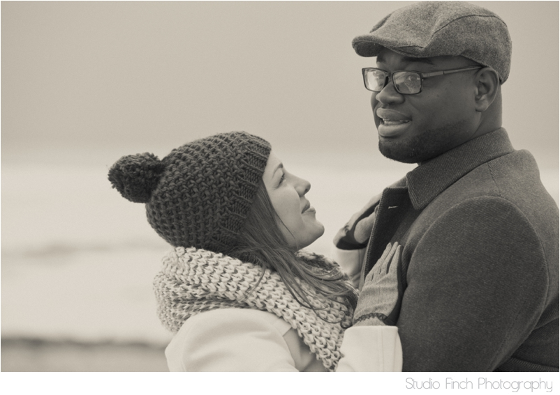 winter chicago engagement session seasons chicago wedding photographer 0009 A Chicago Winter Engagement Photography Session  Voni and Clivens