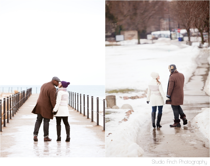winter chicago engagement session seasons chicago wedding photographer 0013 A Chicago Winter Engagement Photography Session  Voni and Clivens