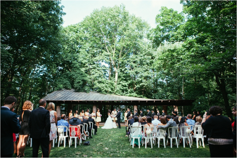 Schlitz Audubon Nature Center Wedding Photos
