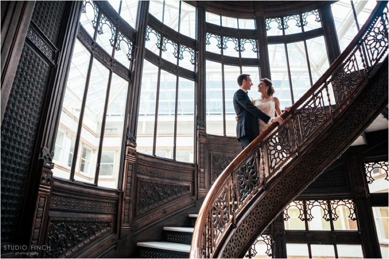 The Rookery Chicago Wedding Photographer Editorial Photography Studio Finch Modern_0001