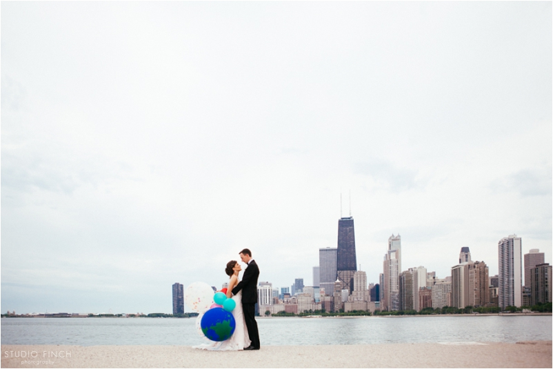 The Rookery Chicago Wedding Photographer Editorial Photography Studio Finch Modern_0039b