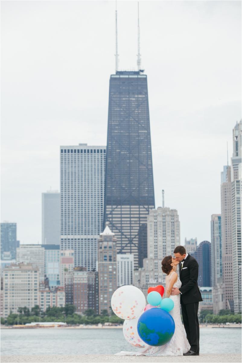 The Rookery Chicago Wedding Photographer Editorial Photography Studio Finch Modern_0040