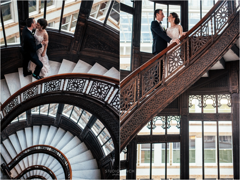 The Rookery Chicago Wedding Photographer Editorial Photography Studio Finch Modern_0062