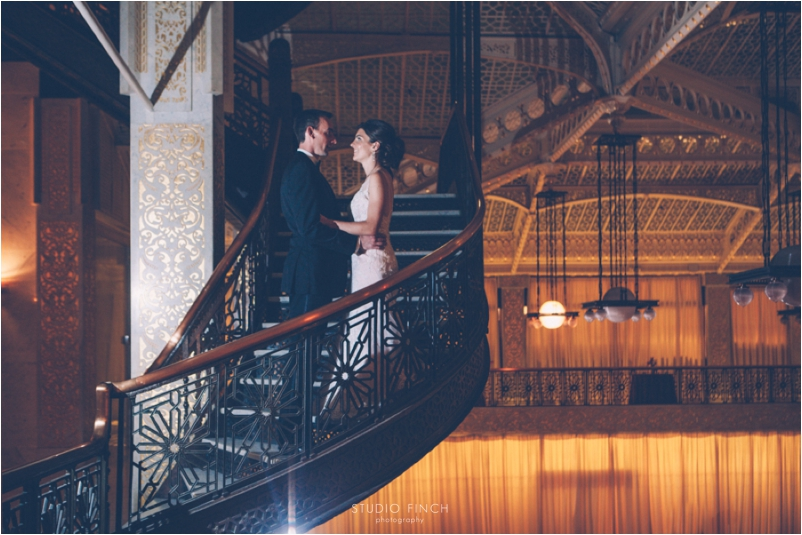 The Rookery Chicago Wedding Photographer Editorial Photography Studio Finch Modern_0075