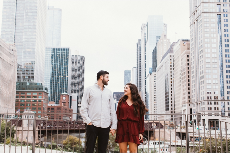 Chicago Engagement Session Wedding Photographer Wicker Park Cutest Dog Ever Studio Finch_0001