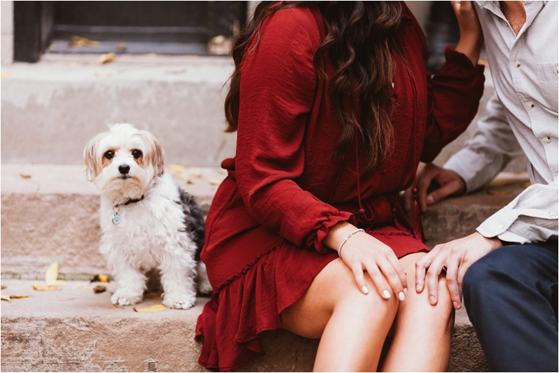 Chicago Engagement Session Wedding Photographer Wicker Park Cutest Dog Ever Studio Finch_0004