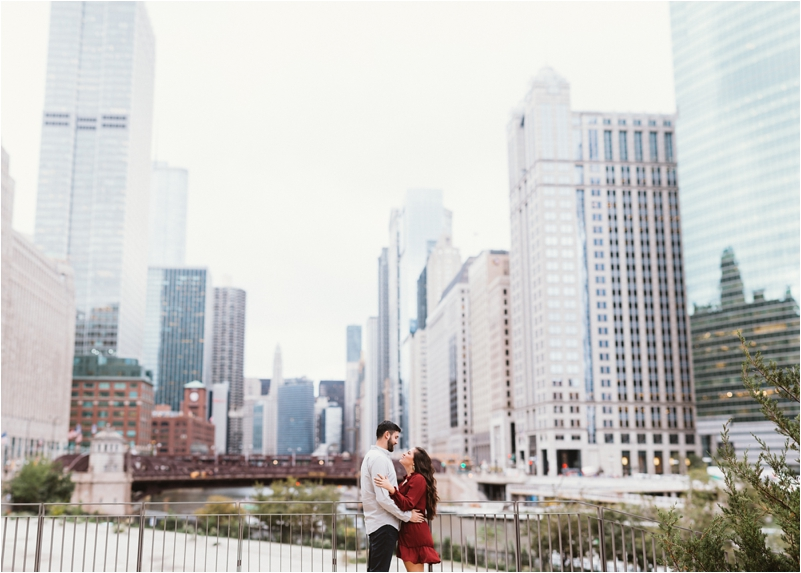 Chicago Engagement Session Wedding Photographer Wicker Park Cutest Dog Ever Studio Finch_0010