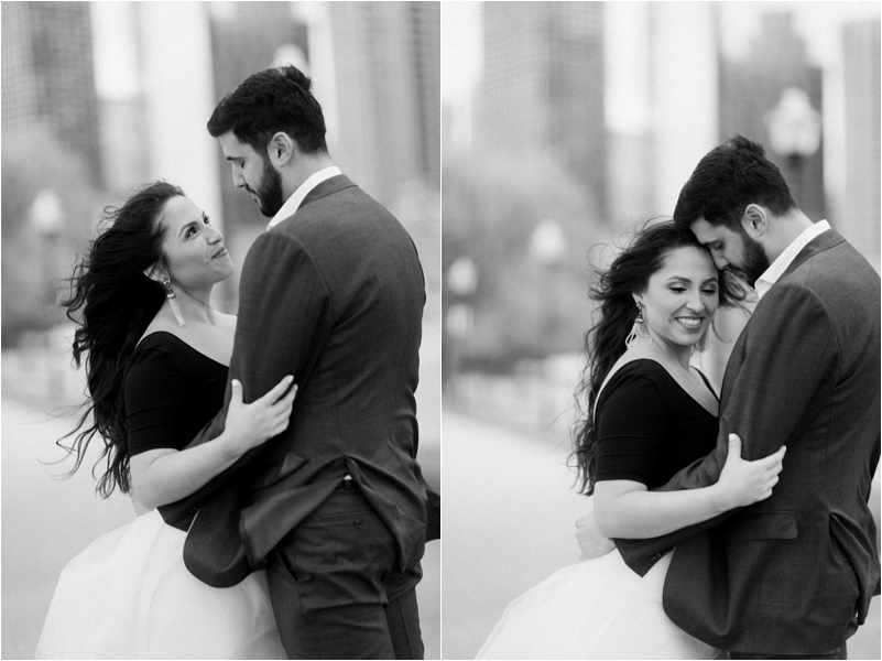 Chicago Engagement Session Wedding Photographer Wicker Park Cutest Dog Ever Studio Finch_0013